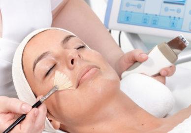 Maska enzymatyczna efekty
